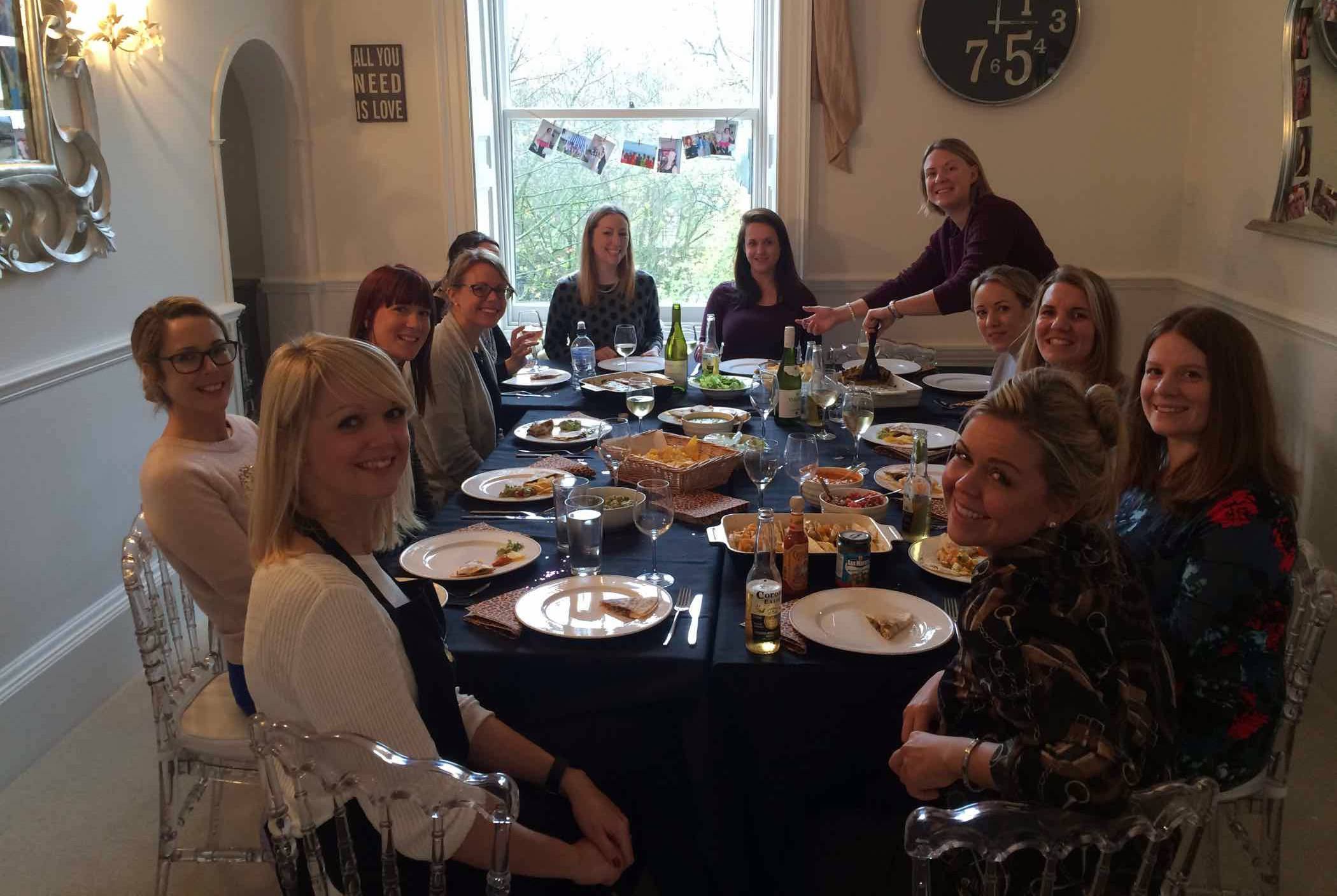Adult Cookery Parties