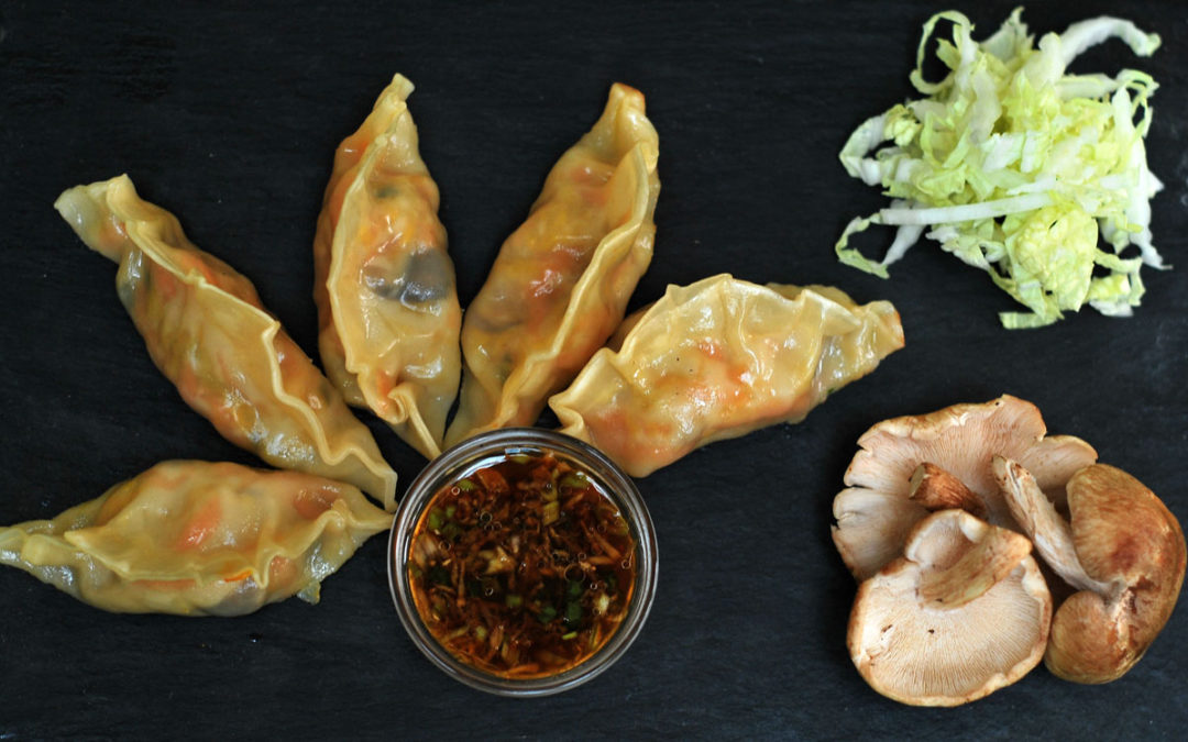Shiitake Gyozas (gf option)