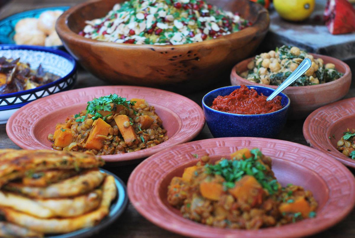 Vegtarian Cookery Parties