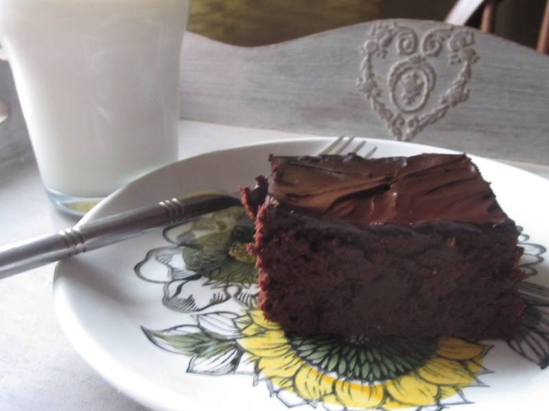Brownie gluten free, sugar free and vegan