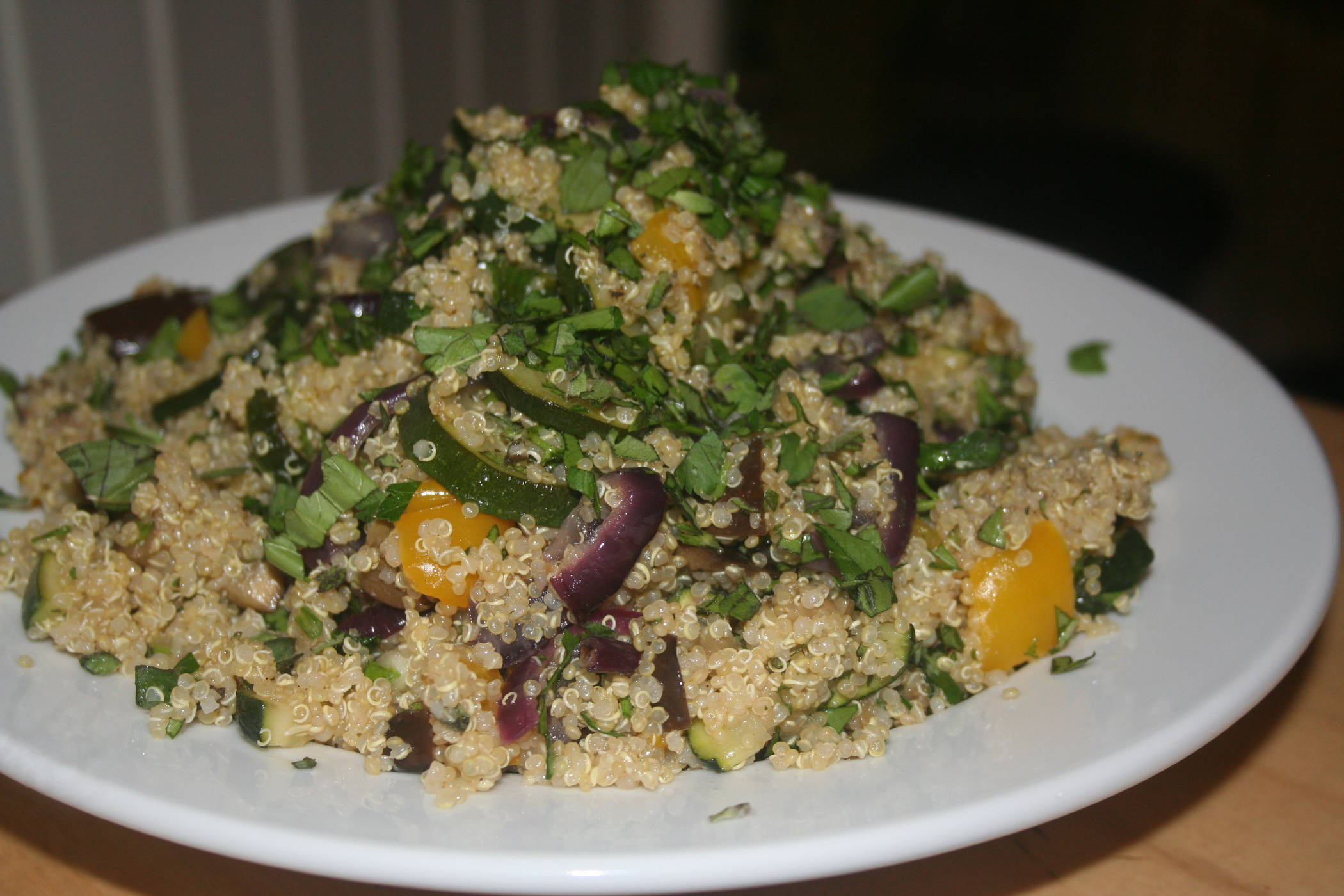Roasted Summer Vegetables and Quinoa Salad