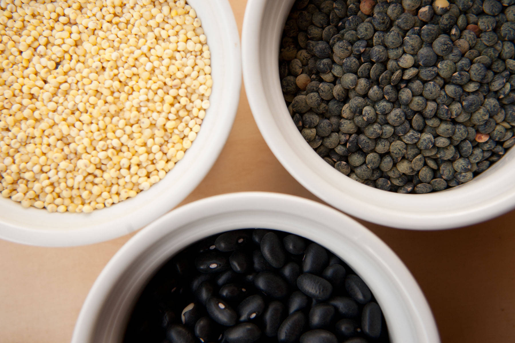 Grains beans and pulses
