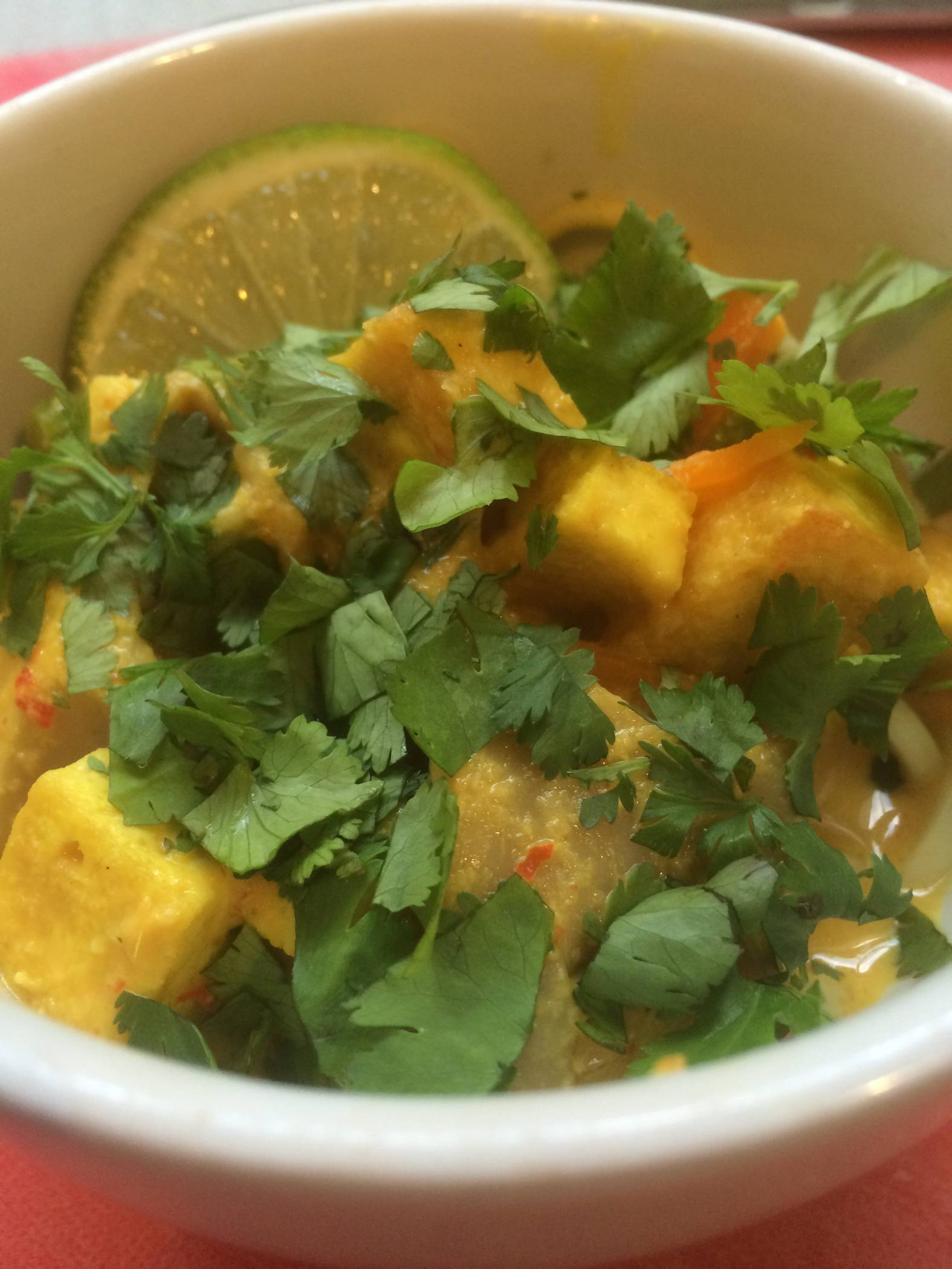 Malaysian Noodle Curry