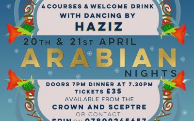 Arabian Nights Spring Banquet at the Crown and Sceptre