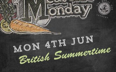 Meat Free Monday at The Royal Oak, Tetbury