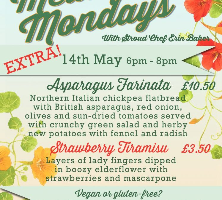 Meat Free Monday at the Crown and Sceptre, Stroud
