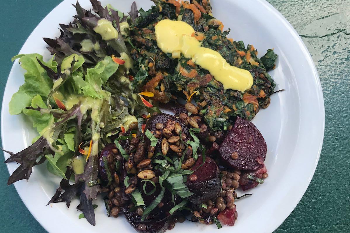 Warm winter salads
