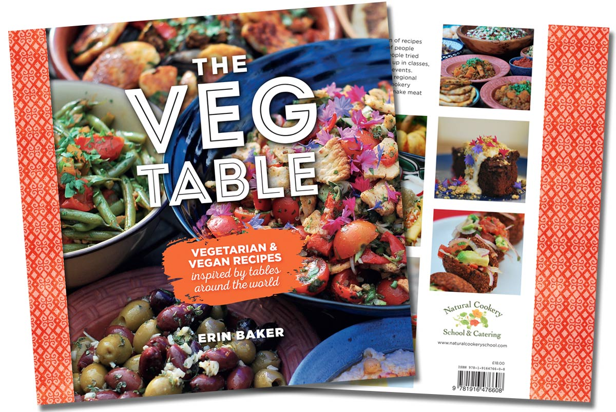 The Veg Table - Erin's new recipe book