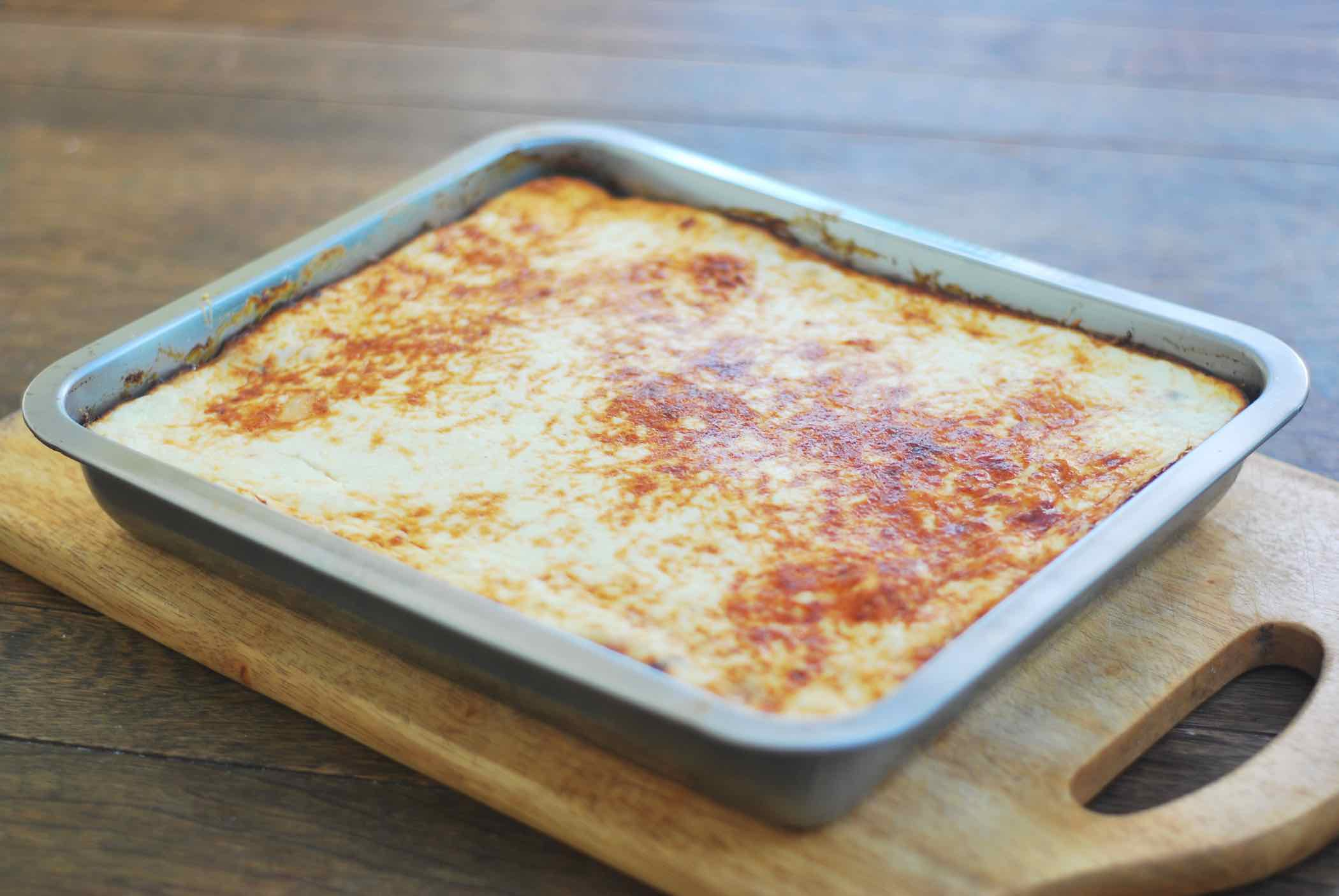 Aubergine And Lentil Moussaka Natural Cookery School