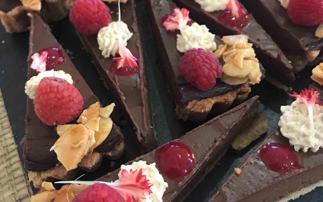 Mexican Chocolate Tart (gf available)