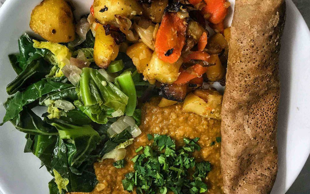 Ethiopian Platter (gf, injera not included)